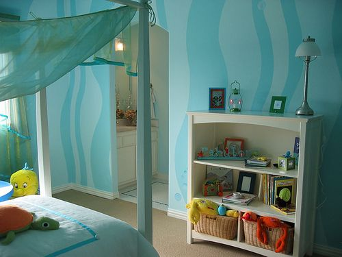 Girls Bedroom Decor Little Mermaid Room Yup Those Walls But More Grown Up Accessories For My Tween