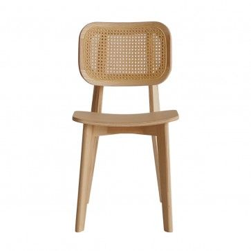 Cane-back chair