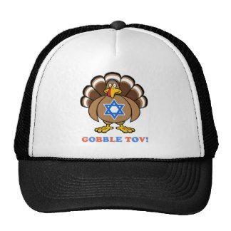 Funny Thanksgiving Hanukkah 2013 Mesh Hat