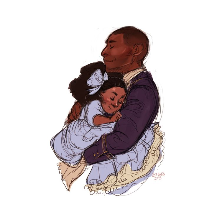 """Hamilton And His Son Philip And Burr With Theodosia ;-; I"