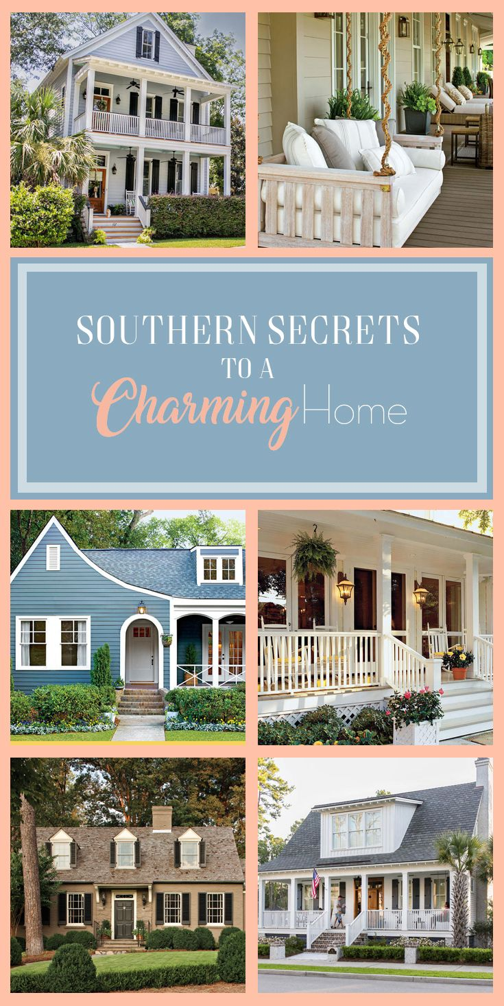 Idea 3 charm with new finishes before amp after family beach homes - Curb Appeal Secrets That Always Give A Home Unmistakable Southern Charm