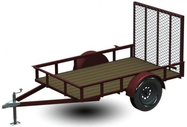 OVER 50 PAGES TOTAL INCLUDING ALL INFORMATION NEEDED TO BUILD YOUR OWN UTILITY TRAILER! You can use this as an ATV trailer, carry 4×4's and Motorcycles and buil