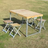 XL Folding Picnic Table and Stool Set, AU$58.95 plus shipping from soldsmart.com.au #outdoorsetting #picnictable #outdoorliving