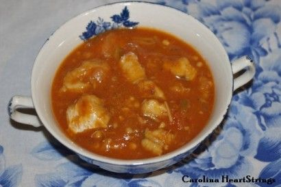 Catfish Stew. I don't know about this being a southern favorite, seing ...