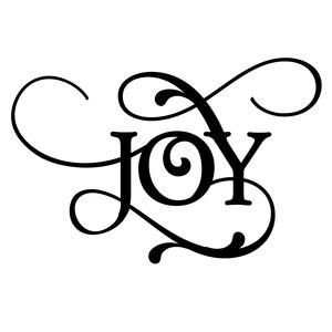 Download Christmas word - joy | Silhouette design, Christmas words ...