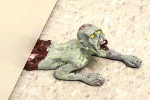 Zombie doorstop: Zombies Apocalyp, The Doors, Gift, Idea, Doorstop Crawl, Zombies Doorstop, Funny Doors, Products, Doors Stoppers