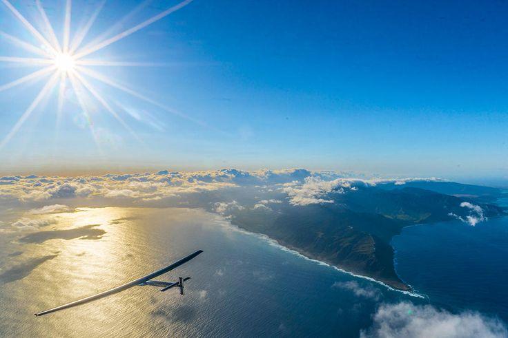 Солнце, я долетел: Самолет Solar Impulse 2 совершил кругосветное путешествие. Фото — Meduza