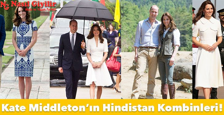 Düşes Kate Middleton, Hindistan ziyaretinde deyim yerindeyse gardolabını sergiledi. İşte Düşes Kate Middleton'ın en şık Hindistan anları!