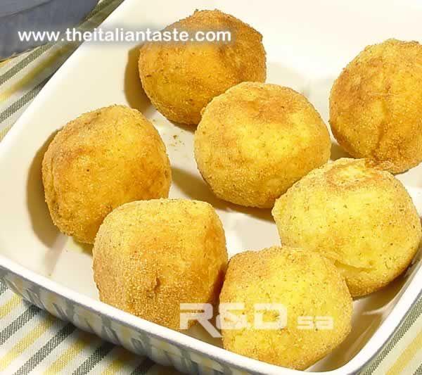 Arancini - Sicilian rice balls