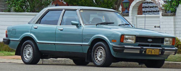 1977-1980 Ford Cortina (TE) Ghia 4.1 sedan