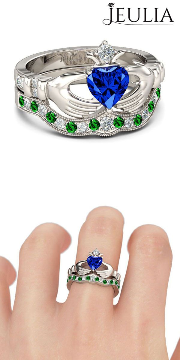 Préférence 46 best Claddagh Rings images on Pinterest | Claddagh rings, Jewel  IG63
