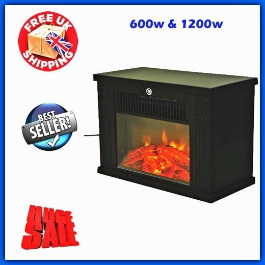 Terrific Electric Fireplace Heater Wood Led Flame Light Fan Download Free Architecture Designs Parabritishbridgeorg