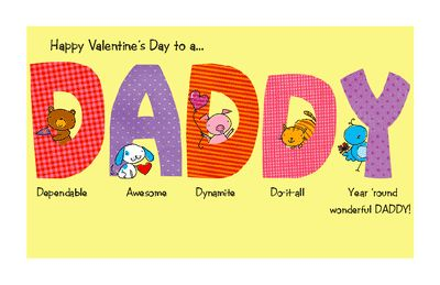 """932ca7e518a37051a2aaf3f4058aa5ce happy valentines day cards printable cards - Happy Valentine's Day Cards Printable   Printable Card:""""To My Wonderful Dad..."""