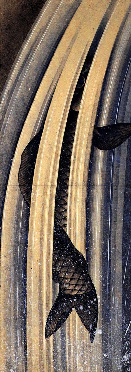 「好きになった」メモ: 葛飾北斎の鯉