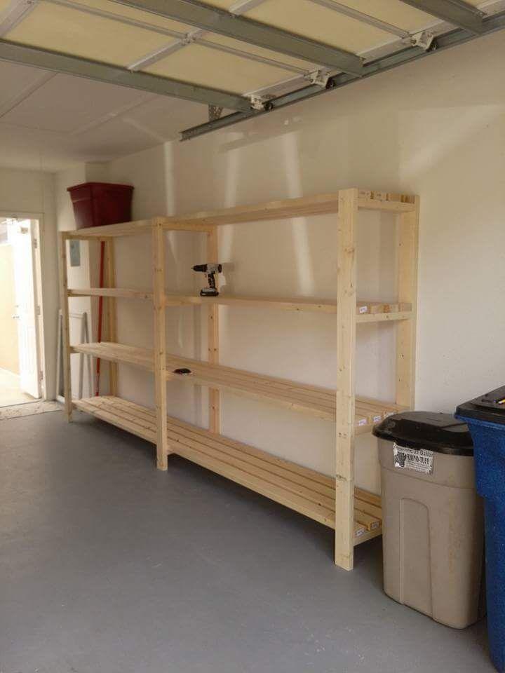 31 Garage Organization Ideas To Whip Yours Into Shape Garage Shelving Units Garage Storage Shelves Garage Shelving