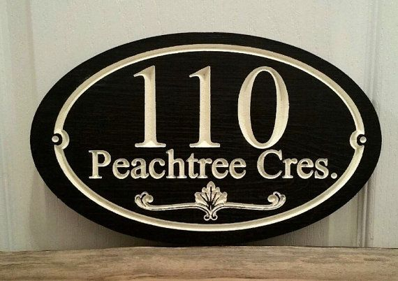 Only Best 25 Ideas About Home Address Signs On Pinterest