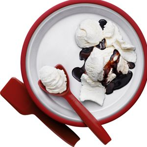 Tested and Tasted: Quick, Homemade Ice Cream Makers - 2 ice cream makers from William Sonoma - $49 and $25.