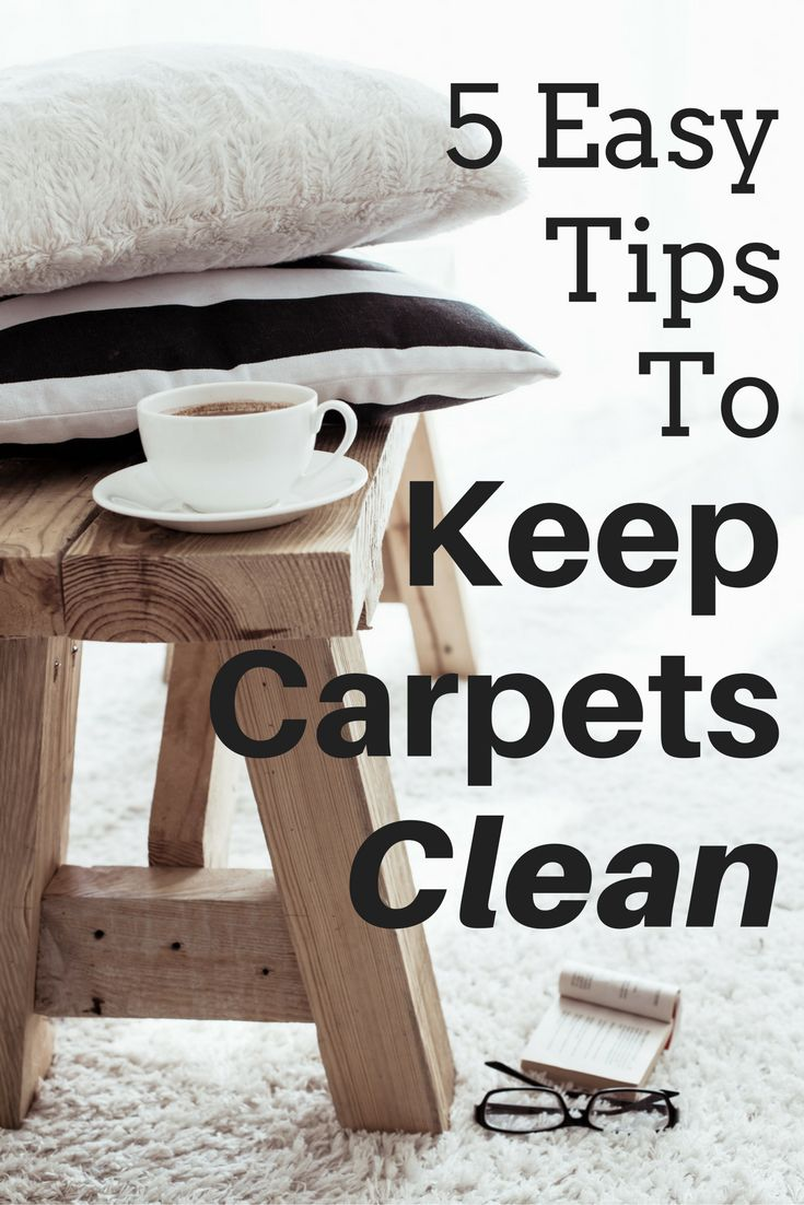 5 Easy Tips to Keep Carpets Clean and looking new even with kids and pets. #sponsored