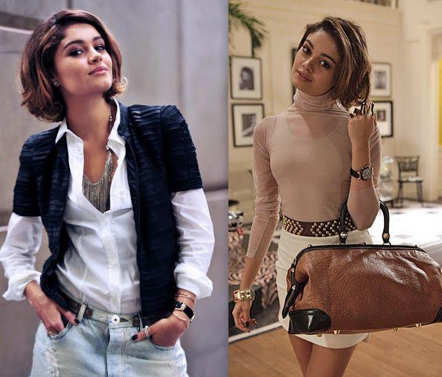 "My Fashion View: Novela Brasileira ""Sangue Bom"" looks lindo"