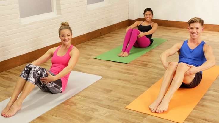 Your Abs Will Burn After This Barre Workout: Just 10 minutes out of your day will bring you closer to a tighter tummy.