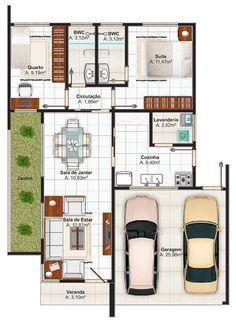 17 best images about plano on pinterest house plans - Casa estilo mediterraneo ...