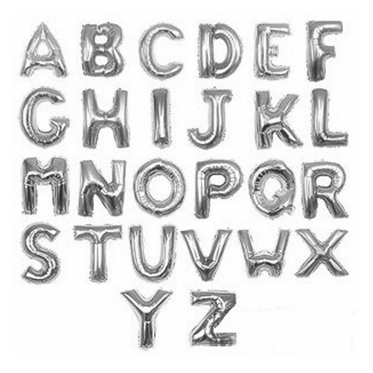 60 best Megaloon - Large Letters and Numbers images on Pinterest - celebration letter