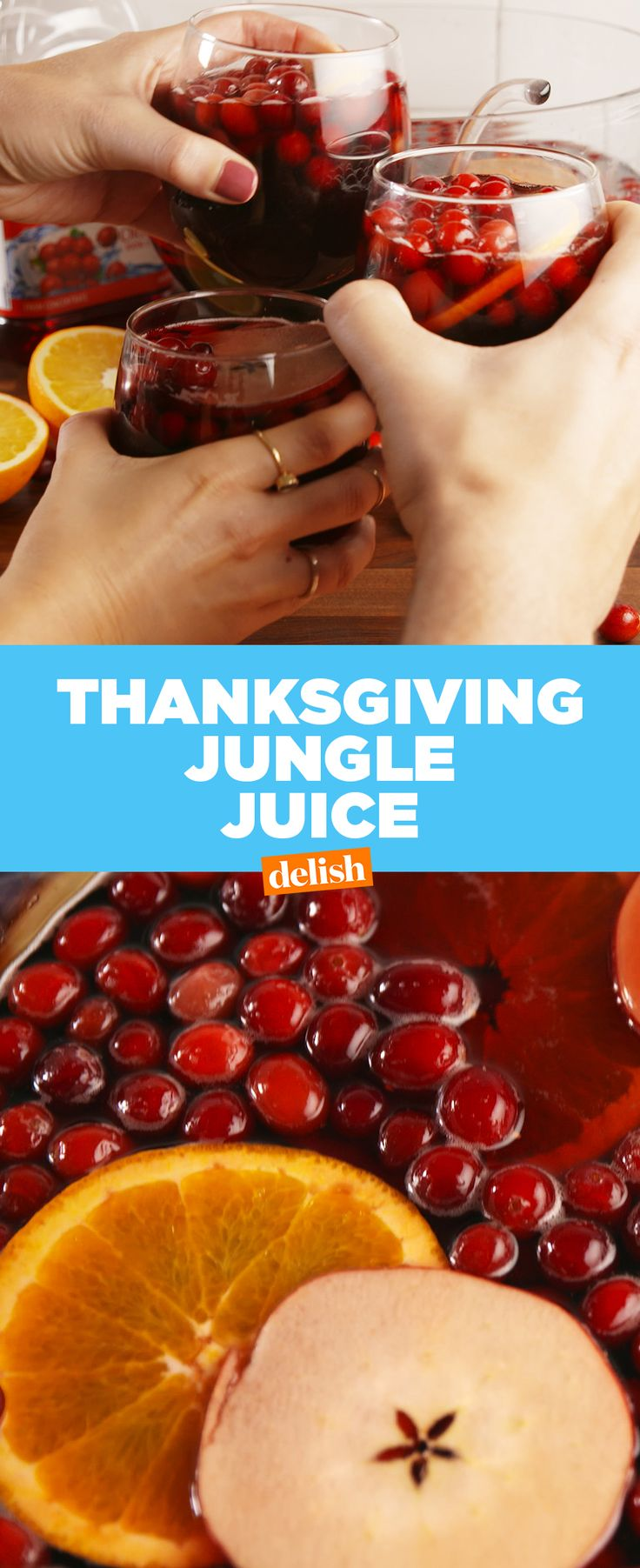 Don't serve this without a warning at your Thanksgiving. Get the recipe at Delish.com.