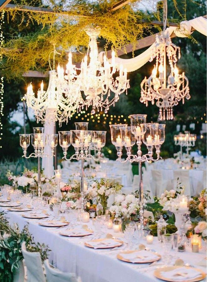 24 best royal wedding decorations images on pinterest wedding taking your wedding to the next level with chandeliers junglespirit Images