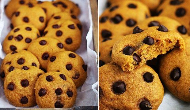 Jemné sušenky s čokoládou a skořicí