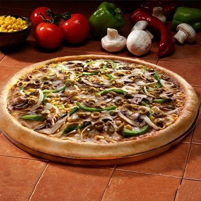 Πίτσα νηστίσιμη vegeterian