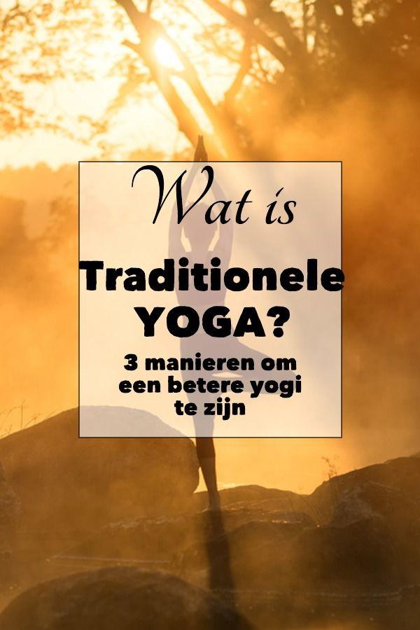 Wanneer je aan een yogi denkt, dan denk je misschien aan zo'n mooie instagramfot. Is dat traditionele yoga? Het verschil tussen yoga en een yogapose...