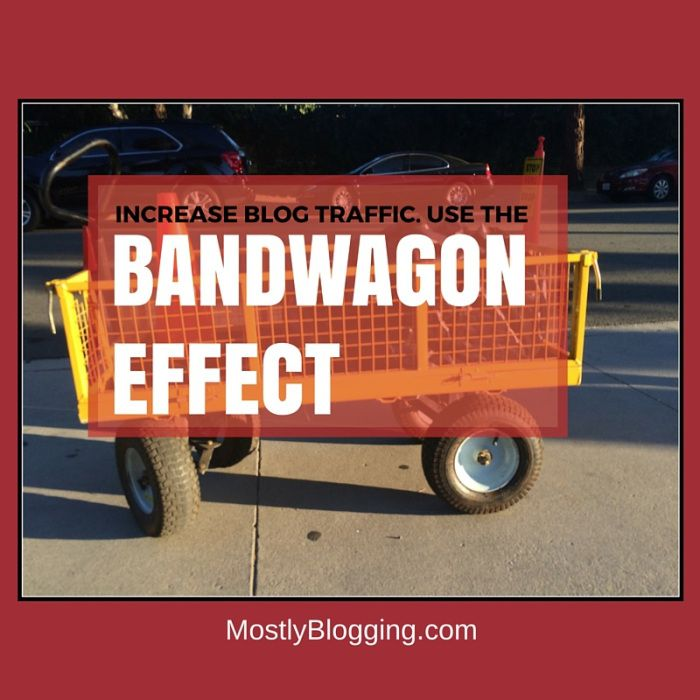 My bandwagon effect in psychology article can help bloggers around the world have a better overall blogging experience
