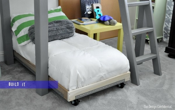 I was looking through the RH catalog and found a cart bed. Then online, to seen where I can get those cool cart wheels, and stumbled upon this DIYer. Easy and cheap about $30? fabulous!!!!: Kids Beds, Industrial Toddlers, Industrial Carts, Toddlers Beds, Twin Beds, Carts Beds, Toddlers Industrial, Loft Beds, Kids Rooms