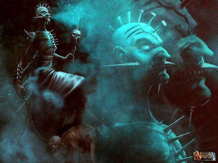 #nohalia #fireclaw #fantasy #dark #darkfantasy #rpg #roleplaygame #paintings #digitalpainting #art #digitalart #necromancer