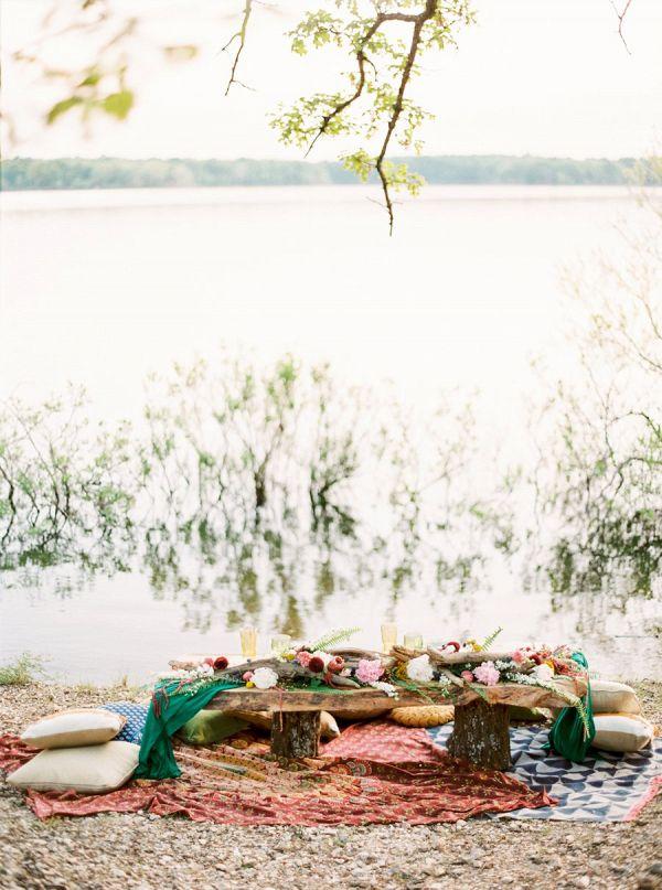 Boho picnic    #wedding #weddingideas #weddings #aislesociety #weddingeditorial #bohemianwedding