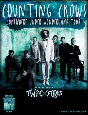 Nashville melodic folk group Twin Forks will make an anticipated return to Canada with Counting Crows this spring, supporting the band on their 'Somewhere Under Wonderland' tour.