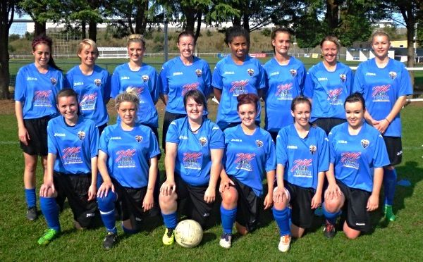 Sent into us from a Girls Side in Northamptonshire, this lucky squad took advantage of our 2013 Summer Offer of a free sponsored Away Kit with any Joma Kit purchased. This newly formed side now are fully prepared for the season and we are delighted to have helped this team and many other teams throughout the course of this year.  The shirt featured is the Joma Fit One Jersey and more information on this shirt can be found below…