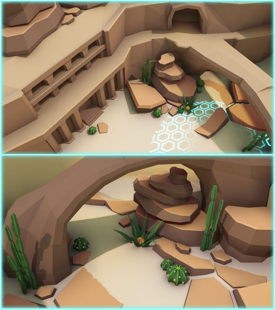 low poly environment - Google-haku: