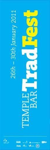 Dublin City Council supporting the Trad Fest #TempleBar --  #civicmedia2011 Lamppost Banners