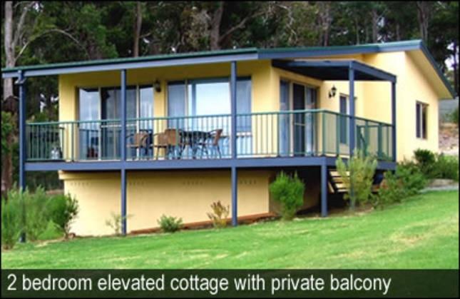 Kalaru Lodge. Near Tathra. 3 x 2 br cottages.$1750 per cottage per week 1; $1650 per cottage per week 2 = $242 per family per night
