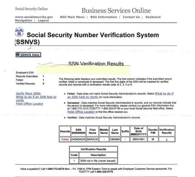 ObamaCare Bombshell: Obama's Identity Unable to be Verified by Healthcare.Gov