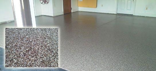 Concrete floor covering garage floor coatings rochester for Vinegar on concrete floor
