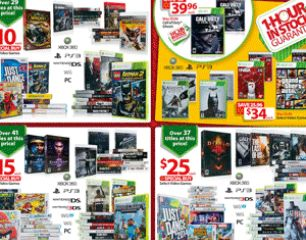 Walmart Black Friday Sale offers more than 100 Video Games priced at $10, $15 and $25 each - I4U News