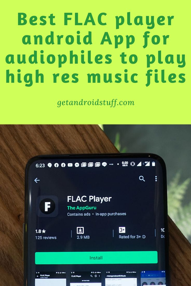 Best FLAC player android App for audiophiles to play high