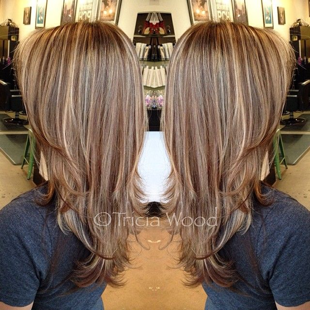 All Over Highlights On Dark Brown Hair Find Your Perfect Hair Style