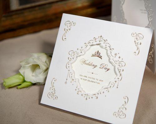 オーセンティックでシンプルな結婚式の招待状一覧♡