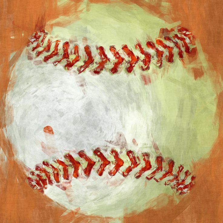 Abstract Baseball Photograph Abstract Baseball Fine Art