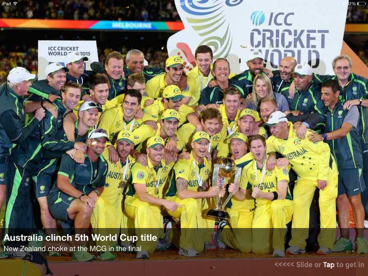 Australia won the World Cup for their little brother Phillip Hughes