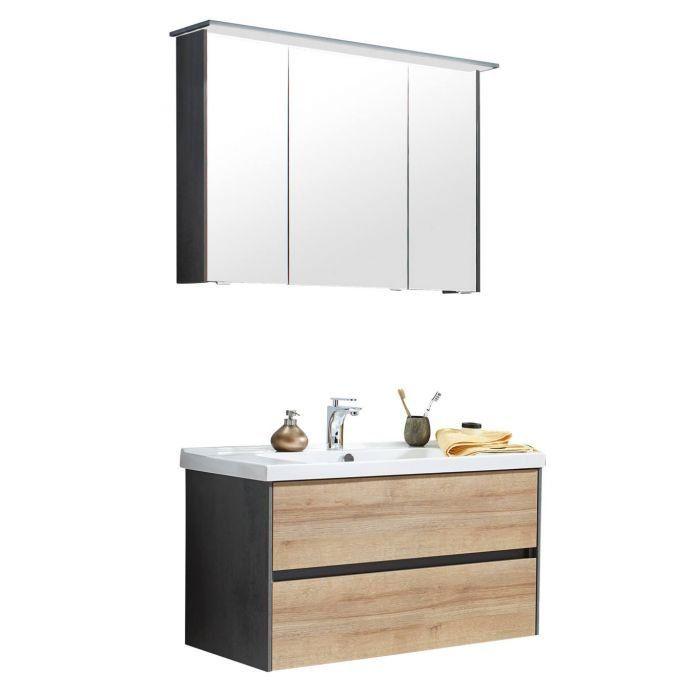 Klassische Bad Kombination Klassische Bader Spiegelschrank Waschtischunterschrank
