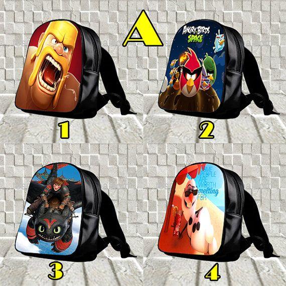 New Design of School Backpack by BagiBagiSchool on Etsy